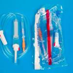 Система для переливания крови в упаковке