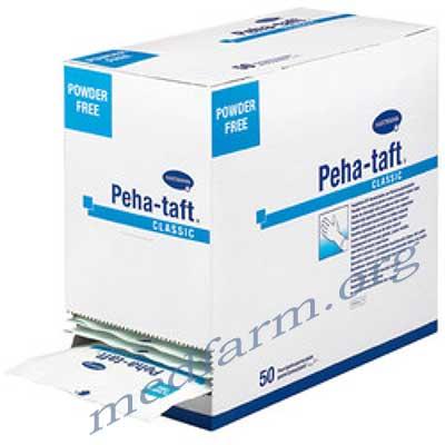 Перчатки Peha-taft classic неопудренные