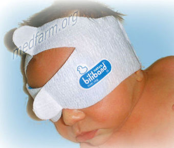 Очки для фототерапии новорожденного